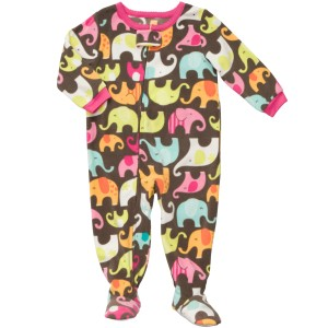 Carter's One-Piece Microfleece Zip-Up Sleeper