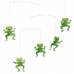 The Happy Frog mobile by Flensted