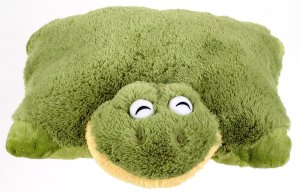 Stinky Frog Pillow