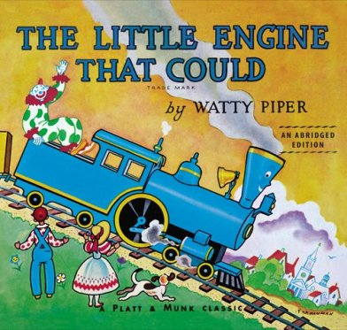 An absolute classic.  I am thankful we just received a board book version because my copy (received on my 2nd birthday) isn't going to stand up to repeat readings very much longer.