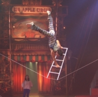 Zhang Fan on the Slack Wire Photo from company website