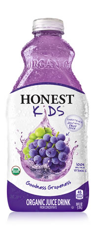 Honest Kids Goodness Grapeness is delicious.  And yes, I'm the one drinking it (my #1 pregnancy craving is always cold beverages). I've enjoyed the Honest Tea brand for years, because I like things on the less-sweet side, and their juices haven't disappointed either. Organic, less sugar and yummy?  I might even share this stuff with my kids! (Image from www.honesttea.com)