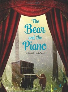 A story about a bear who finds a piano in the woods and learns to play. By David Litchfield Preschool - Grade 2
